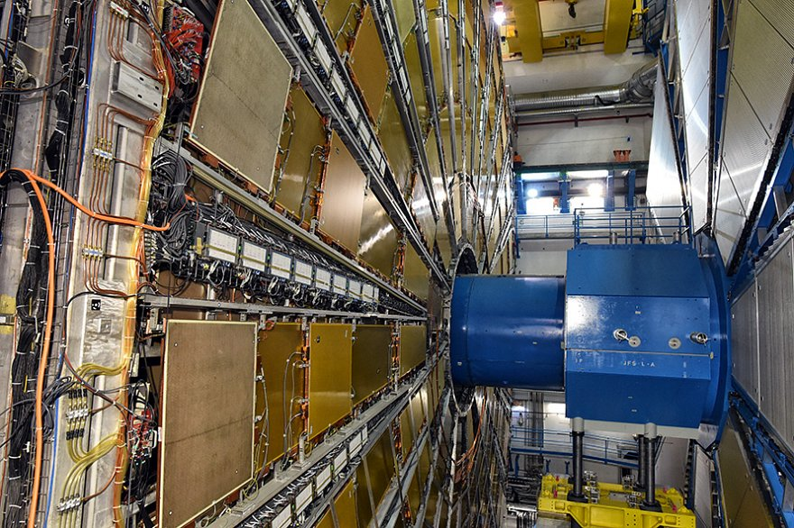 Atlas Experiment at Large Hadron Collider