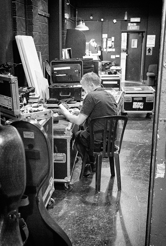 Chris - our guitar tech